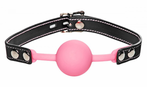 Glow Gag Glow in the Dark Silicone Ball Gag