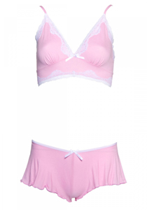 Bequemes BH-Set - Rosa