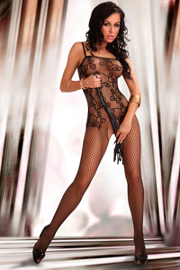 Orrienne Bodystocking in Schwarz