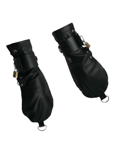 Strict Leather bondage handschoenen