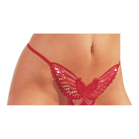 Butterfly String - Rood