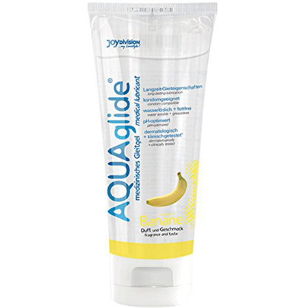AQUAglide Bananen-Gleitmittel - 100 ml