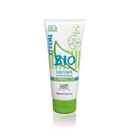 HOT BIO Superglide Xtreme Waterbasis Glijmiddel - 100 ml