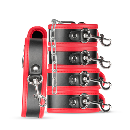 Bruno Beginners Bondage Set - Rood