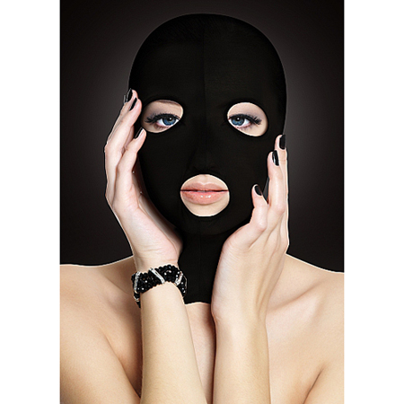 Subversion Maske in Schwarz