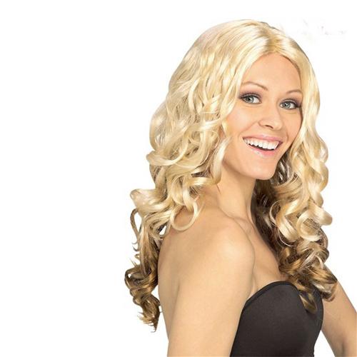 blondbruine_pruik_met_krullen