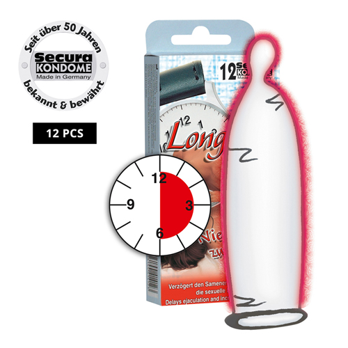 Secura Longtime Lover Condooms - 12 Stuks