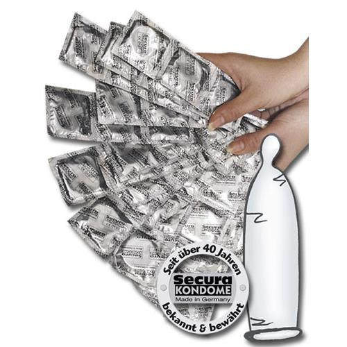Secura Transparante Condooms - 1000 stuks