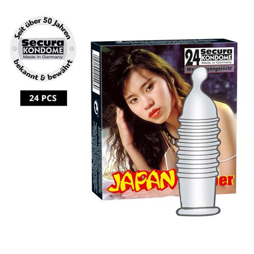 Secura Japan Rubber 24 Stuks