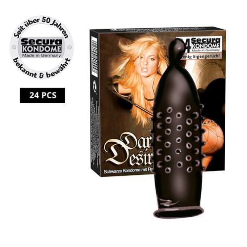 Goedkope Condooms Dark Desire 24 stuks