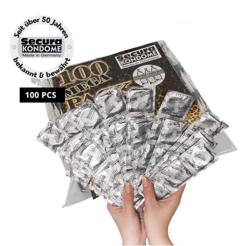 Secura Transparant Condooms - 100 stuks
