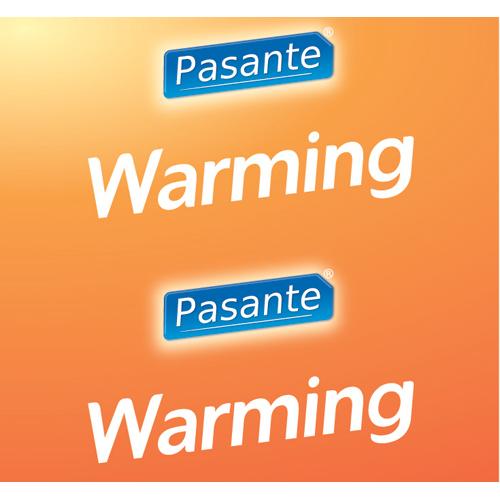 Pasante Warming condooms 144 stuks