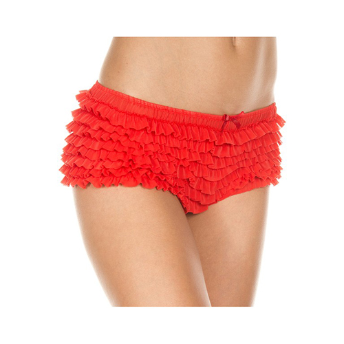 Hipster Met Ruches - Rood