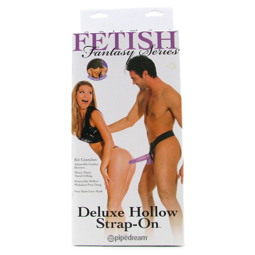 Purple Delight Hollow Strap-On