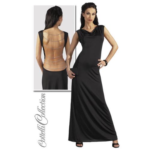 Gewaagde party jurk!verleidelijk mooie lange jurk met extra laag uitgesneden rug ….tot net boven de billen. ...