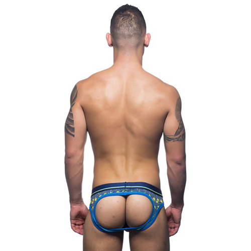 Palm Stripe Air Jockstrap