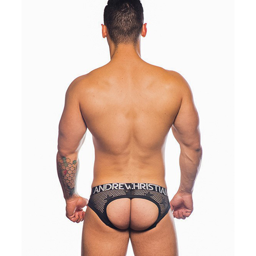 Star Mesh Locker Room Jockstrap