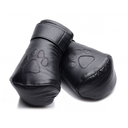 Strict Leather Padded Puppy Handschühe