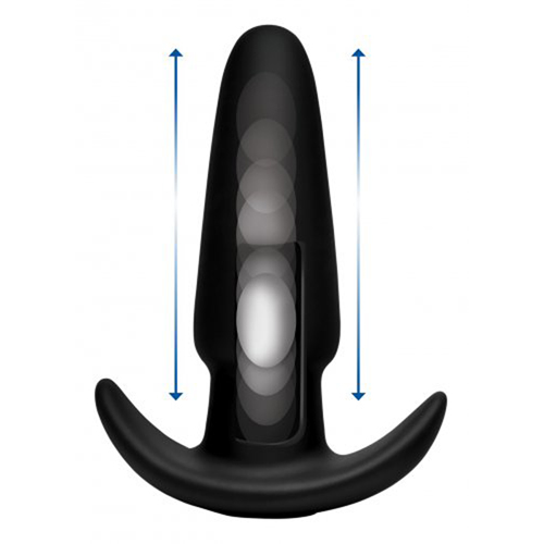 Thump-It Stotende Buttplug - Medium