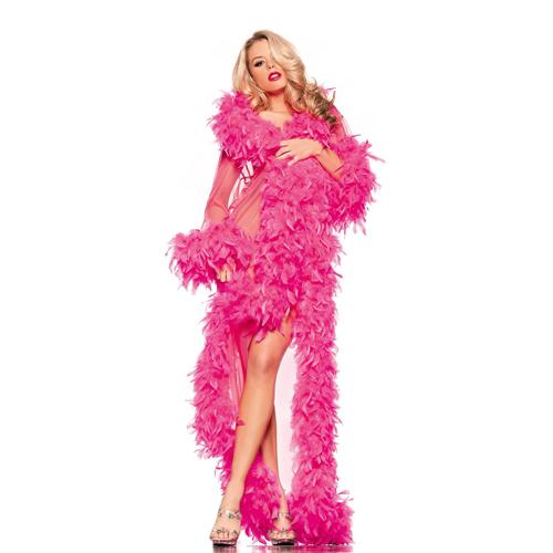 bodenlange_robe_mit_federn_verziert_-_pink
