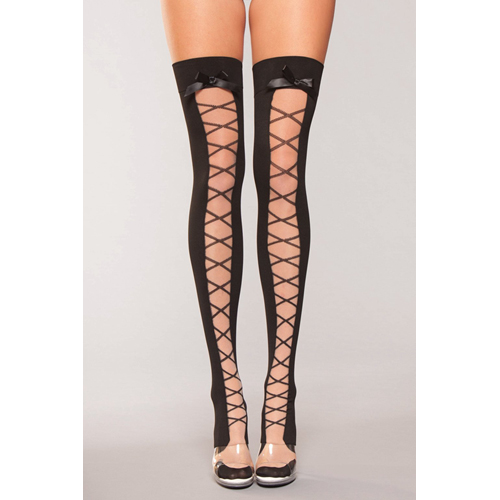 hold_ups_with_bow_and_lace_up_print