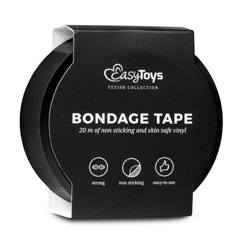 Black Bondage Tape image .2