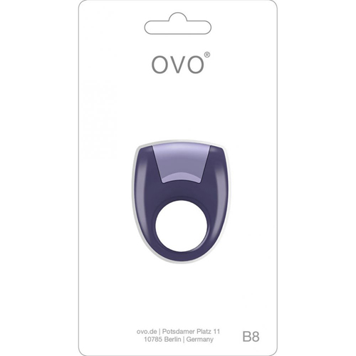 Ovo B8 Vibrating ring paars