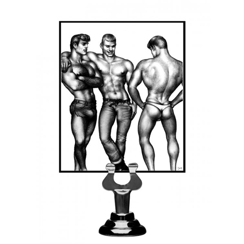Tom of Finland Cockring Set - 3 Stuks - Blauw