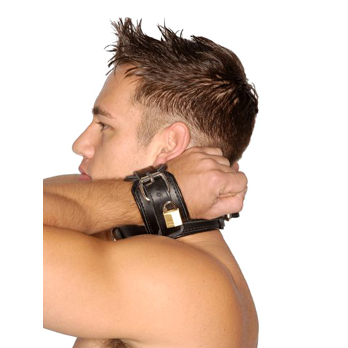 Strict Leather Wrist to Neck Restraint