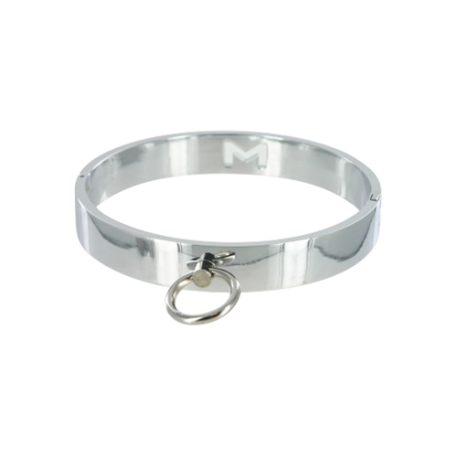 chrome_slave_collar_-_mediumlarge