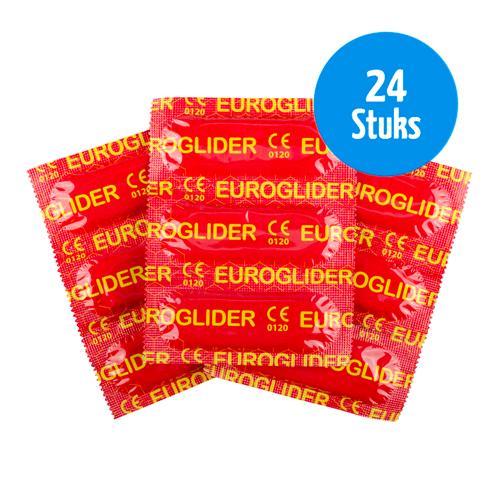 Euroglider Condooms - 24 Stuks