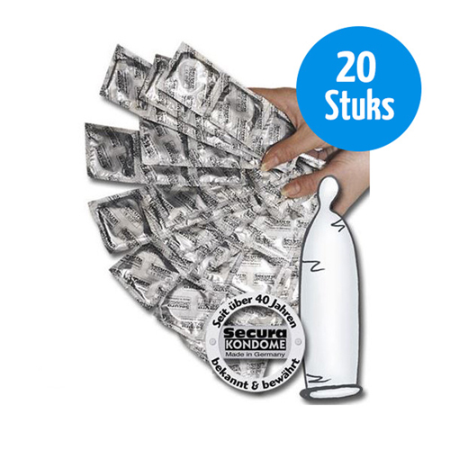 Secura Transparante Condooms - 20 stuks