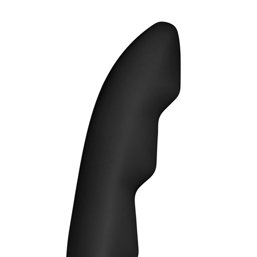 Ripples Strap-On Dildo - Zwart