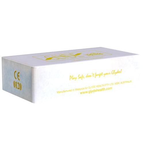 100 Glyde condooms vanille smaak