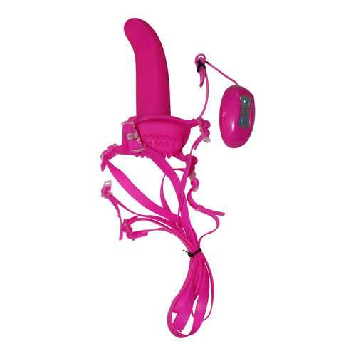 7-function_love_rider_dual_action_strap-on_in_pink