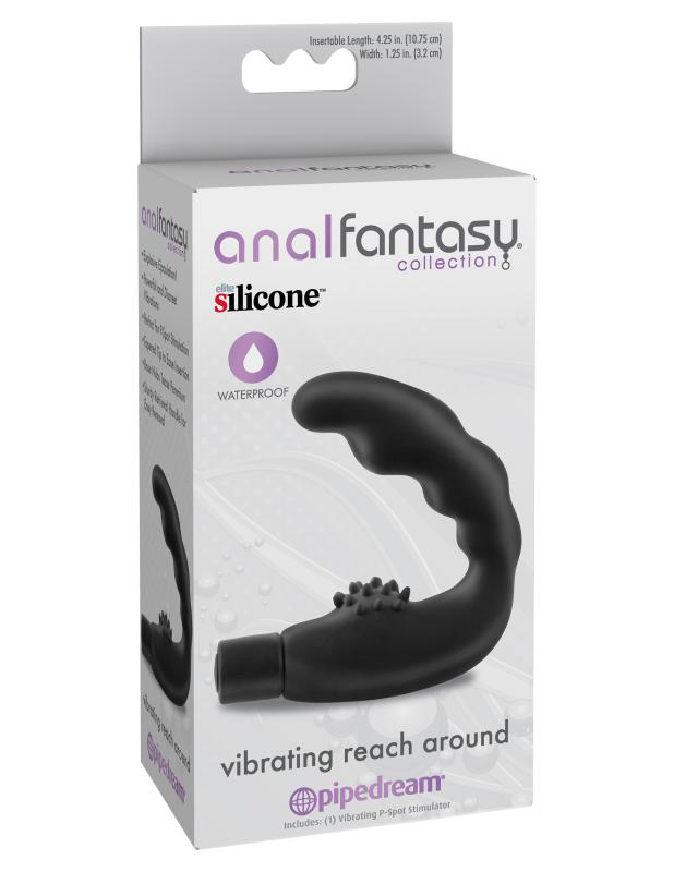 Anaal Vibrator Reach Around