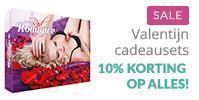 Sale banner Valentijn cadeausets