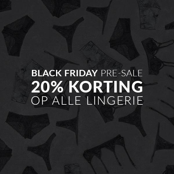 Black Friday Dames Lingerie 20% Korting