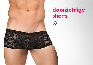 Doorzichtige shorts