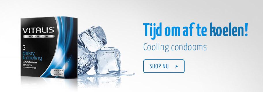Cooling condooms