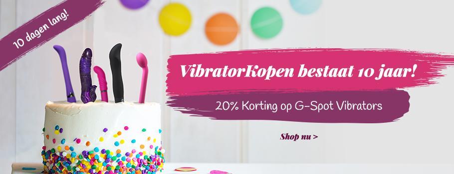 20% Korting - G - Spot Vibrators