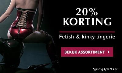 20% Korting Fetish