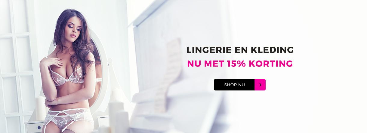Lingerie & Kleding 15% Korting