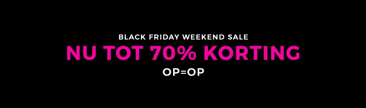 Black Friday 20% Korting Op Alles