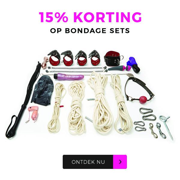 Bondage 15% Korting