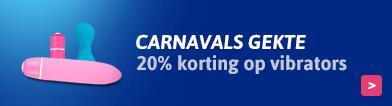 20 % Korting Vibrators