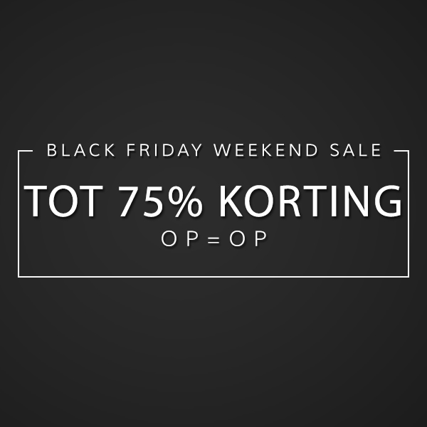 Black Friday 20% Korting Op Alles