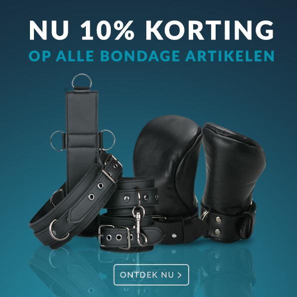 10% Korting Bondage