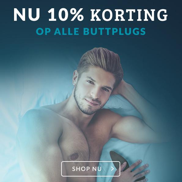 Buttplugs 10% Korting