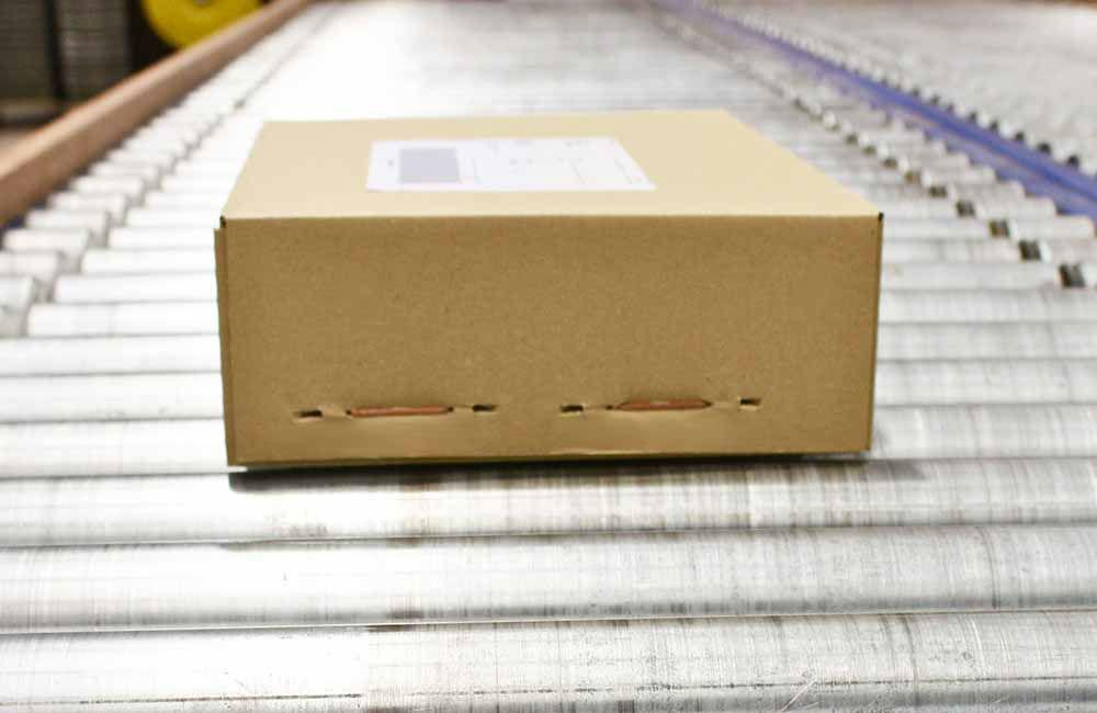 Voorbeeld van een pakket